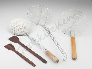 Wooden Cooking Tools And Skimmers