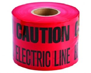 Non Detectable Underground Cable Warning Tape