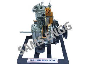 Two Stroke Diesel Engine