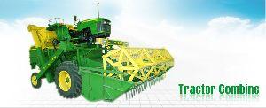Tractor Combine Harvester