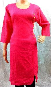 Handloom Cast Shattle Khadi Kurtis