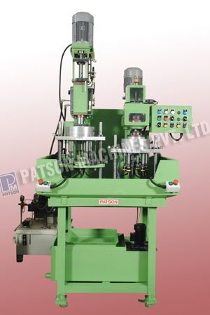 2 Station Multispindle Drilling And Tapping Spm