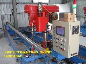 Automatic Pvc Pipe Multi Head Drilling Machine