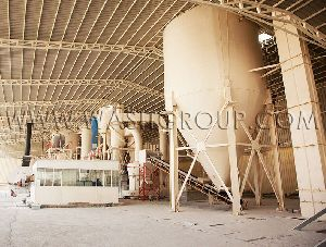 Gypsum Powder as Wallplaster