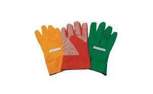 Men's Garden Glove Pvc Dotted Hand Gloves