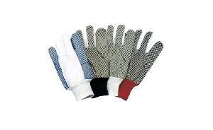 Pvc Dots Cotton Gloves