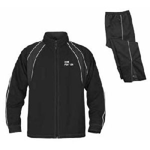 BLACK SPORTS TRACK SUITS