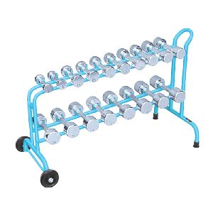 Dumbells Iron With Cart