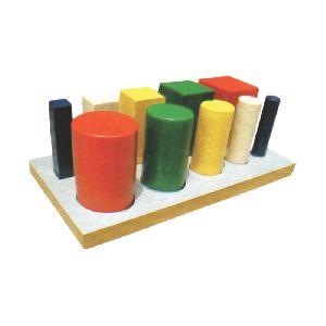 Graded Round & Square Peg Board