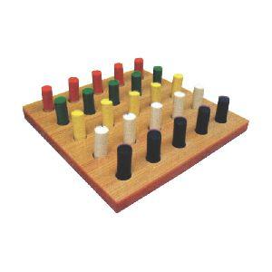 Round Peg Board (25 Pegs)