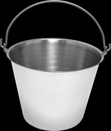 Bucket Pail Stainless Steel