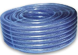 PVC Nylon Braided Blue Pipe