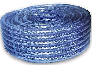 Pvc Nylon Braided Blue Pipe