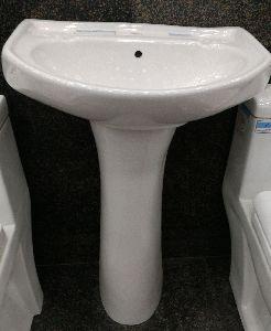 20x16 Wash Basin With Pedestal