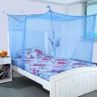 Blue Single Bed Mosquito Net