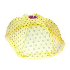 Yellow Baby Printed Mosquito Net