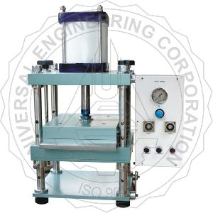 Laboratory Sheet Press- Square Type(pneumatic Controlled)