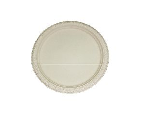 Biodegradable Cornstarch Plain Plate