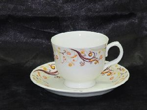 Cup Saucer Merry Mch 081