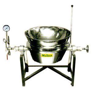 Round Steam Jacketed Kettle