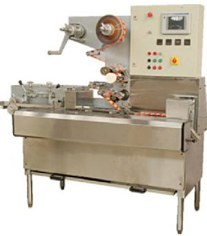 Automatic Toffee Cut And Flow Wrap Machine Cfp 600