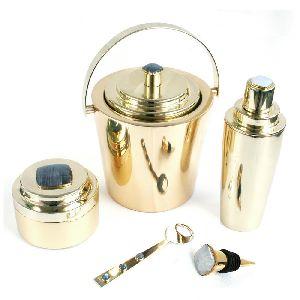 Brass Ice Bucket