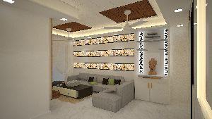 3d Living Room Designing