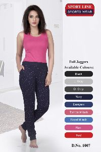 Girls Full Joggers