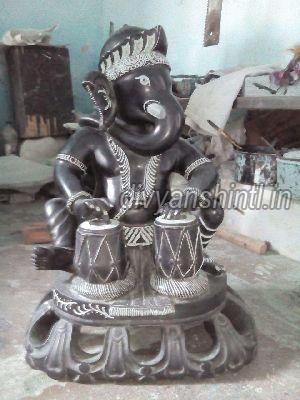 Black Marble Ganesh Ji 03
