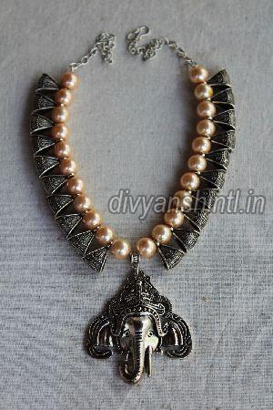 Antique Ganesh Pendant 01