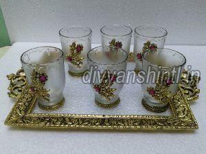 Glass Tray Set 01