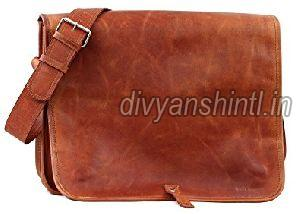 Leather Office Bag 01