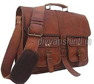 Leather Office Bag 02