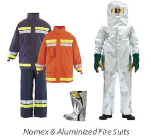 Nomex & Aluminized Fire Suits