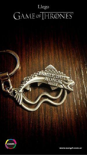 Game Of Thrones 6 Metallic Keychain