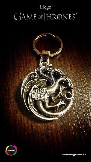 Game Of Thrones 9 Metallic Keychain