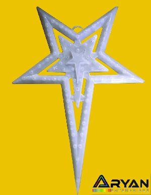 White Christmas Stars 01