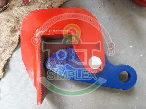 Horizontal Steel Plate Lifting Clamp