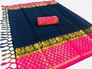 Aura Soft Cotton Saree