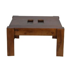 Art Wooden Coffee Table