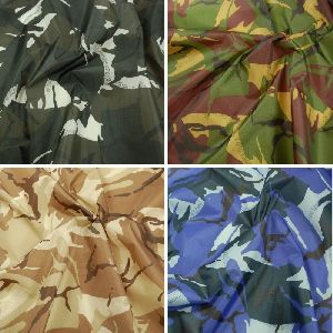 Camouflage Printed Matty Fabric