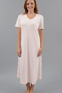 Plain Cotton Nightgown