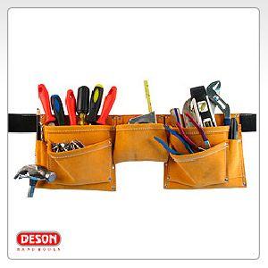 Pocket Split Leather Work Apron
