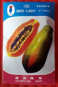 Red Lady Papaya 786 Seeds