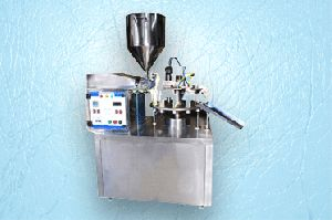 Semi Automatic Aluminium Tube Filling, Crimping, And Coding Machine