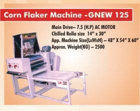 Corn Flaker Machine