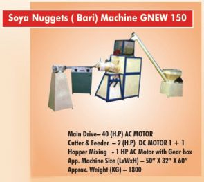 Soya Nuggets Machine