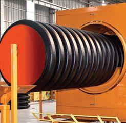 ALCORR HDPE plastic pipes