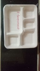 5 Compartment Thali