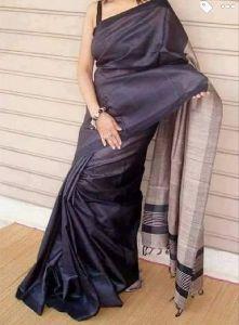 Muga Cotton Silk Saree